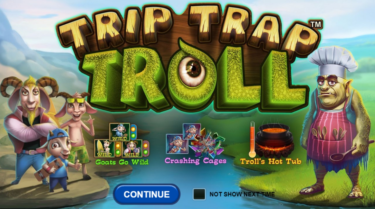 Trip Trap Troll video slot